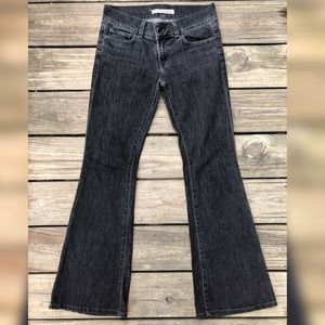J Brand Jeans Love Story Low Rise Flared Leg Sz 25